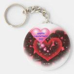 Happy Valentines Day Keychain