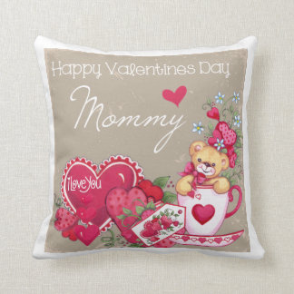 Happy Valentines Day Mommy Pillow