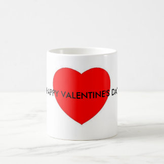 HAPPY VALENTINE'S DAY mug with heart