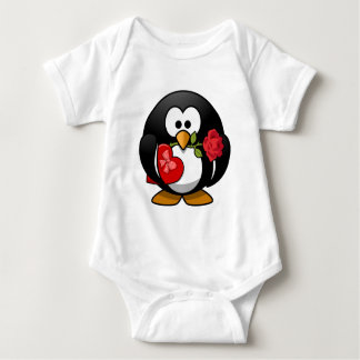 Happy Valentine's Day Penguin Tee Shirts