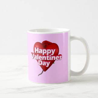 Happy Valentine's Day T-shirts and Gifts Basic White Mug