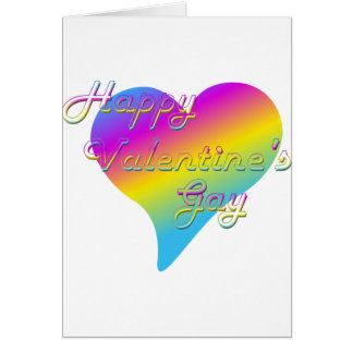 Happy Valentine's Gay Greeting Card