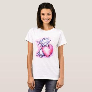 Happy Valentines Munchkin Dragon Shirt