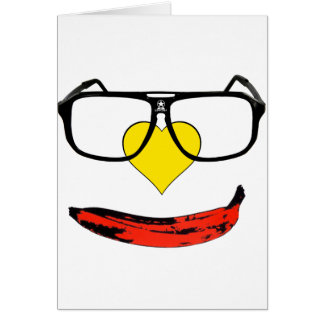 Happy Valentine's Pop Art Smiley Face Card