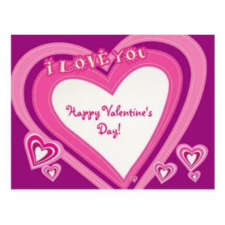 Happy Valentine'sDay!-Postcard Postcard