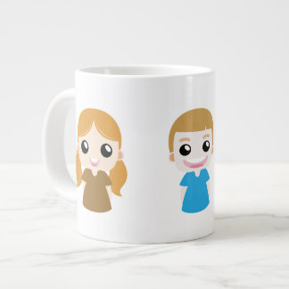 Happy Vector Kids Mug