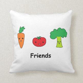 Happy Vegetable Friends Cushion