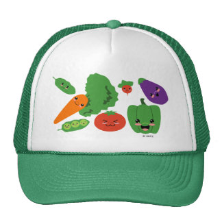 Happy Veggies Cap