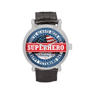 Happy Veterans Day - American Superhero Watch