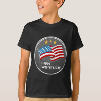 Happy Veterans Day Icon Tee Shirts