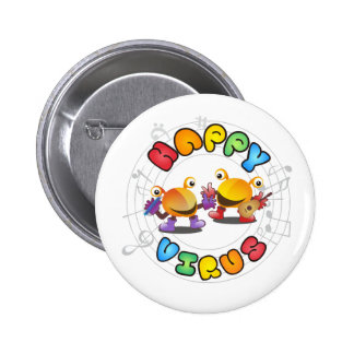 Happy Virus - Badge