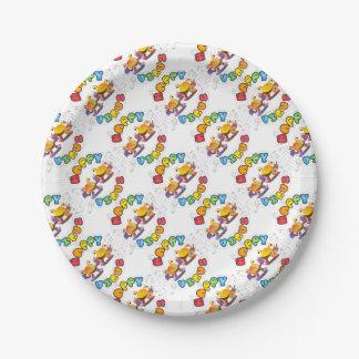 Happy Virus Product Range 7 Inch Paper Plate