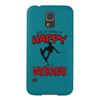 HAPPY WAKEBOARDER (black) Galaxy S5 Case