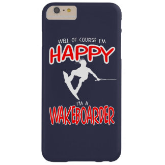 HAPPY WAKEBOARDER (white) Barely There iPhone 6 Plus Case
