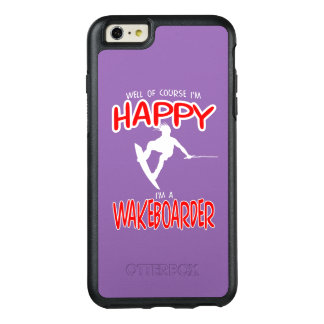 HAPPY WAKEBOARDER (white) OtterBox iPhone 6/6s Plus Case