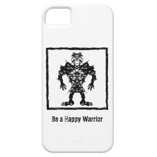 Happy Warrior iPhone 5 Case