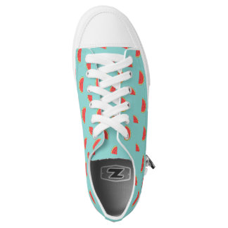 Happy Watermelon Low-Top Printed Shoes