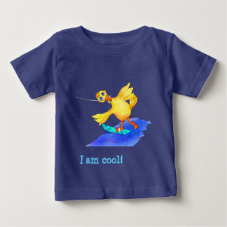 Happy Waterskiing by The Happy Juul Company Baby T-Shirt