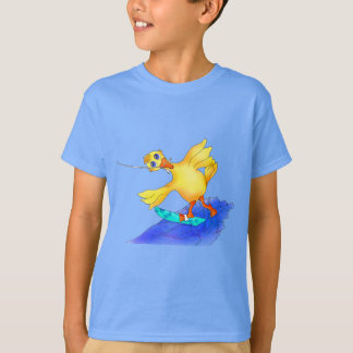 Happy Waterskiing by The Happy Juul Company T-Shirt
