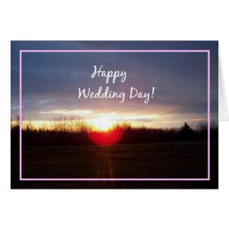 Happy Wedding Day! Greeting Card