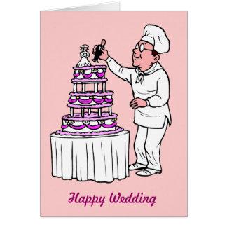 Happy wedding! greeting card
