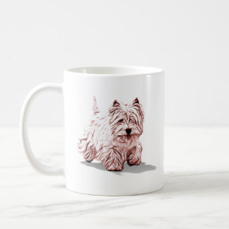 Happy Westie Coffee Mug