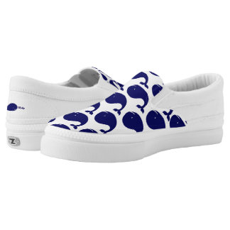 Happy Whale Printed Shoes