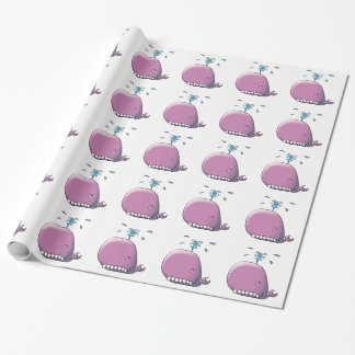 Happy Whale Wrapping Paper