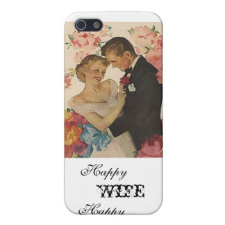 Happy Wife Happy Life iPhone Case iPhone 5/5S Cover