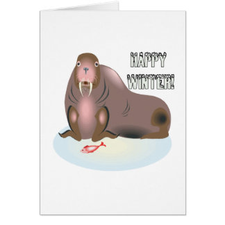 Happy Winter 3 Card
