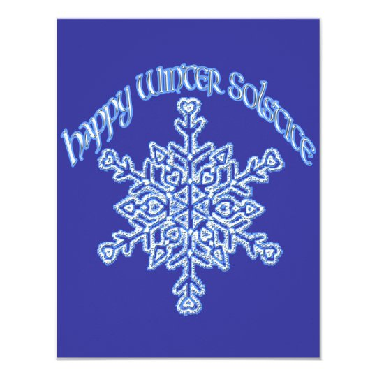 Happy Winter Solstice Card