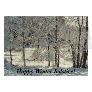 Happy Winter Solstice Card