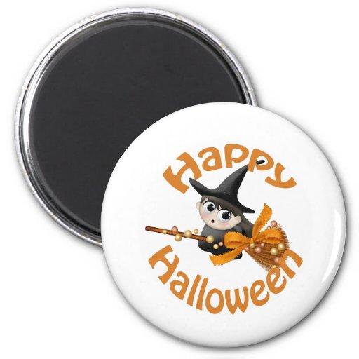 Happy Witch Fridge Magnets
