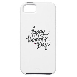 Happy Women's Day Tough iPhone 5 Case