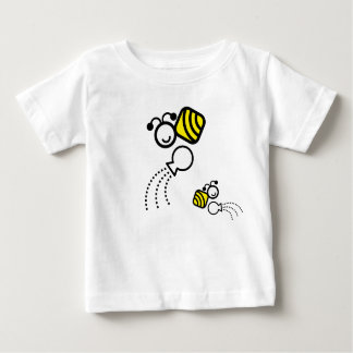 happy work bees baby T-Shirt