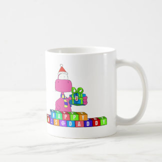 happy xmas daddy coffee mug