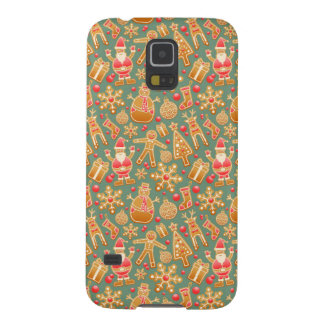 Happy Xmas Symbols Galaxy S5 Case