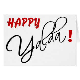 Happy Yalda! Card