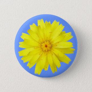 Happy Yellow Dandelion image 6 Cm Round Badge