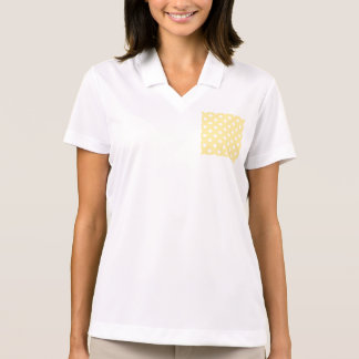 Happy ,yellow,polka dot,white,girly,country,chic polo