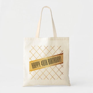 Happy (your age) Birthday | Basic Tote