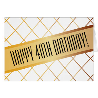 Happy (your age) Birthday | Card