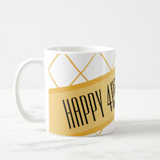 Happy (your age) Birthday | Mug