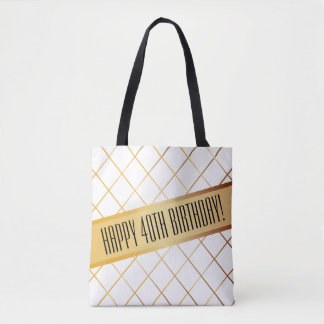 Happy (your age) Birthday | Tote Bag