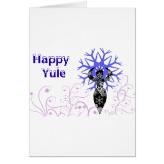 Happy Yule 2011 Card