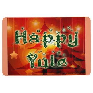 Happy Yule Floormat Floor Mat