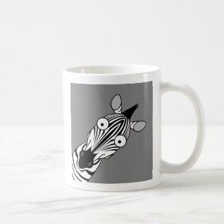 HAPPY ZEBRA COFFEE MUGS