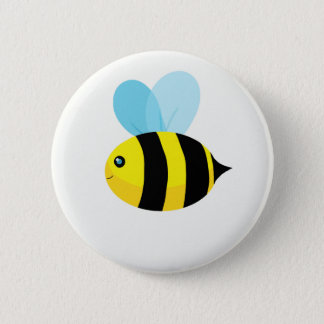 HappyBee Collection 6 Cm Round Badge