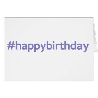 #happybirthday card
