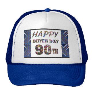 happybirthday happy birthday 90 ninety  90th cap